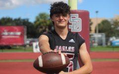 Sophomore Ryan Spallina plays quarterback for the MSD varsity football team.