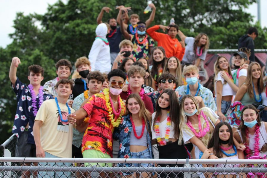The Rowdy Eagles never disappoint with their themes. The game against West Broward was Hawaiian theme.
