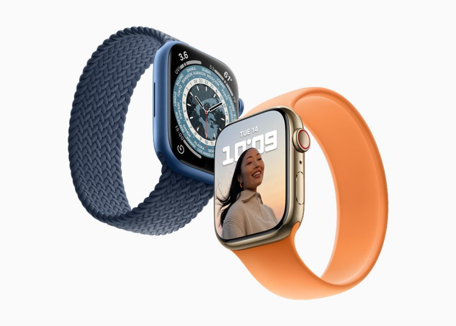 Apples new series 7 watch is here. The new watch has many new color options and three different finishes. This is a big upgrade for Apple watches.